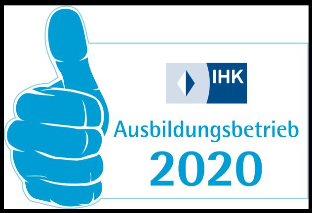 Karriere I IHK Ausbildungsbetrieb 2020