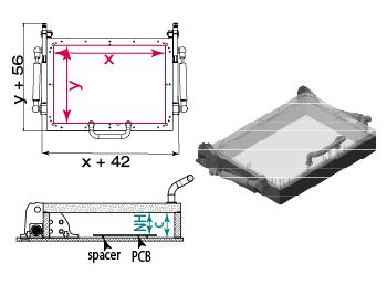 Einseitige Haube zum Bausatz B50-00025